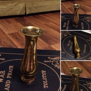 🦋2/$10 3/$15 4/$18 5/$20 Vintage Brass Vase